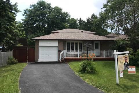 House for sale at 25 Coltbridge Ct Toronto Ontario - MLS: E4501968