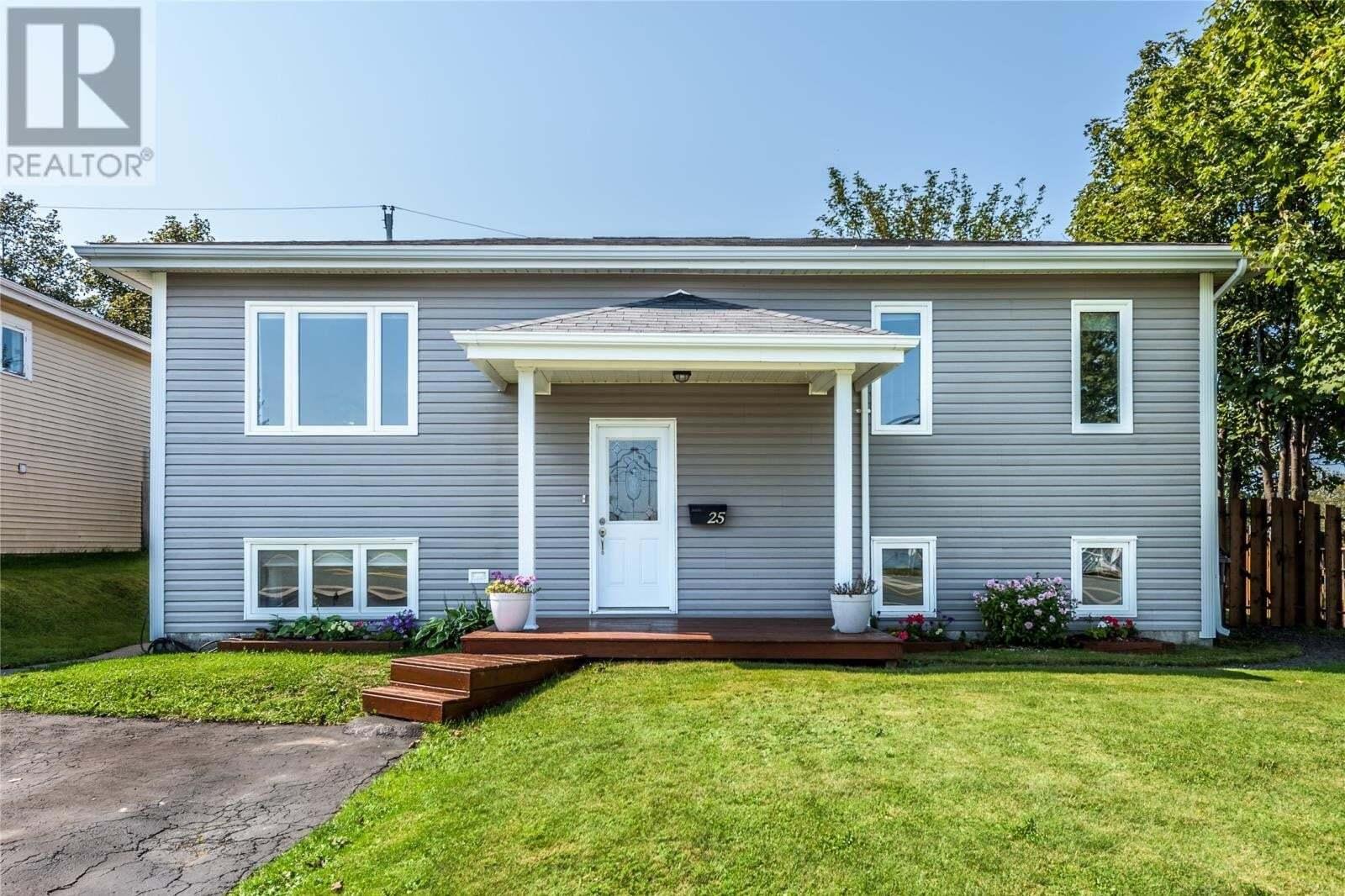 House for sale at 25 Davis Pl Mount Pearl Newfoundland - MLS: 1221221