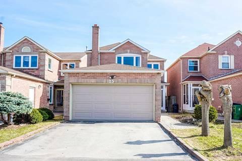 House for sale at 25 Duxbury Dr Toronto Ontario - MLS: E4737683