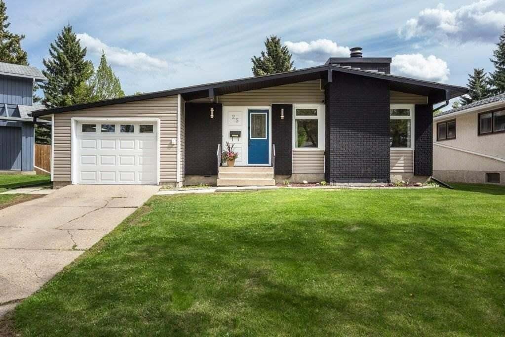 House for sale at 25 Fernwood Cr St. Albert Alberta - MLS: E4196810