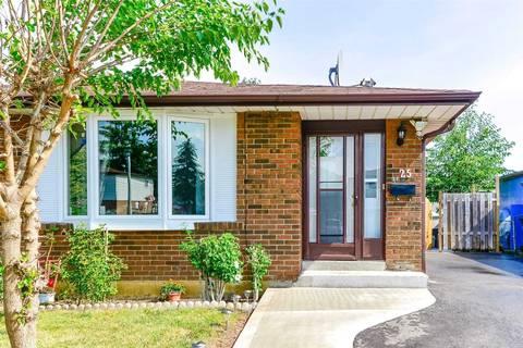 Townhouse for sale at 25 Forsythia Rd Brampton Ontario - MLS: W4553331