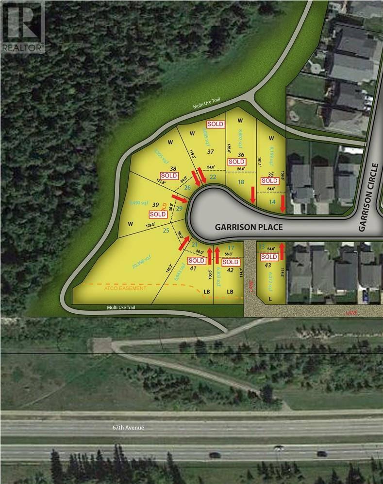 Residential property for sale at 25 Garrison Pl Red Deer Alberta - MLS: ca0171532
