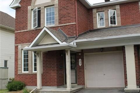 Townhouse for sale at 25 Gatesbury St Ottawa Ontario - MLS: 1159854