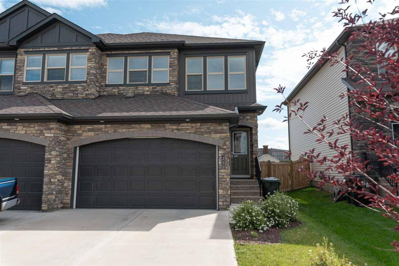 Townhouse for sale at 25 Greenbury Cs Spruce Grove Alberta - MLS: E4169440