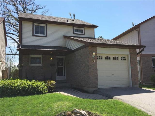 For Sale: 25 Mitchell Avenue, Brampton, ON   3 Bed, 2 Bath House for $599,000. See 20 photos!