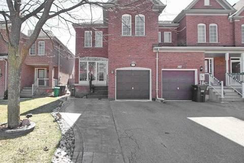 Townhouse for sale at 25 Monaco Ct Brampton Ontario - MLS: W4733623