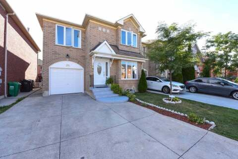 Townhouse for sale at 25 Morningdew Cres Brampton Ontario - MLS: W4923047