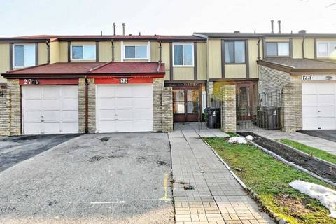 Townhouse for sale at 25 Newdawn Cres Toronto Ontario - MLS: E4643905