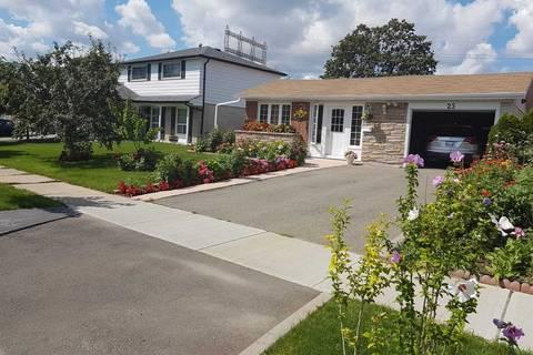 House for rent at 25 Tinton Cres Toronto Ontario - MLS: W4667761