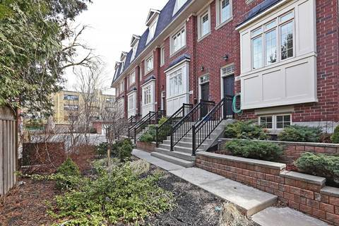 Townhouse for sale at 25 Tompkins Me Toronto Ontario - MLS: E4731979