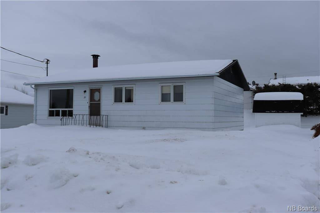 House for sale at 25 Valley View Cres Grand Sault/grand Falls New Brunswick - MLS: NB032970