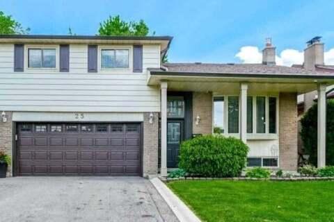 House for sale at 25 Willis Dr Brampton Ontario - MLS: W4783324