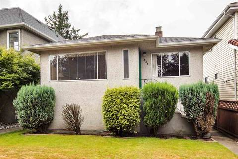 House for sale at 250 54th Ave E Vancouver British Columbia - MLS: R2389011
