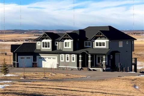 House for sale at 250123 Dynasty Dr West Rural Foothills County Alberta - MLS: C4222662