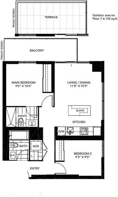 Apartment for rent at 20 Tubman Ave Unit 2503 Toronto Ontario - MLS: C4674799