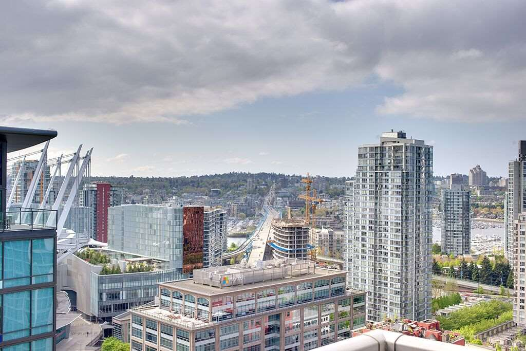 For Sale: 2506 - 233 Robson Street, Vancouver, BC | 1 Bath Condo for $549,000. See 19 photos!
