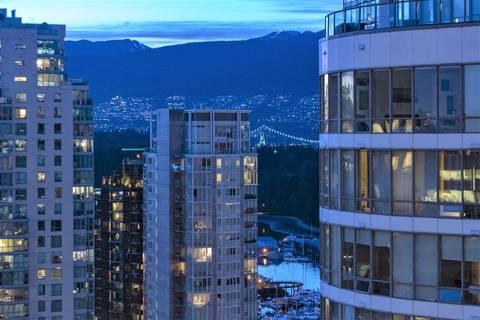 Condo for sale at 1151 Georgia St W Unit 2507 Vancouver British Columbia - MLS: R2360833