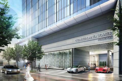 Apartment for rent at 188 Cumberland St Unit 2508 Toronto Ontario - MLS: C4653601