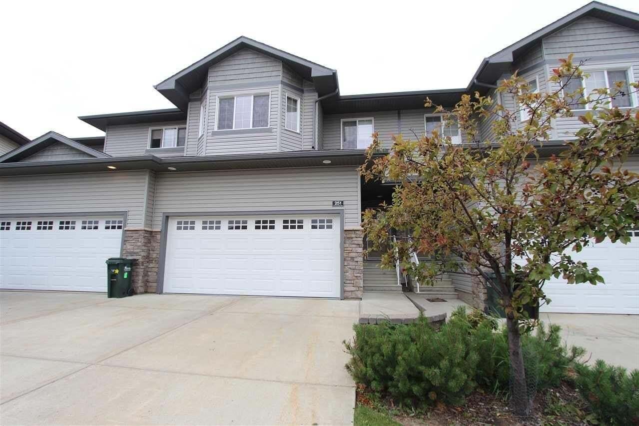 Townhouse for sale at 41 Summerwood Bv Unit 251 Sherwood Park Alberta - MLS: E4210078