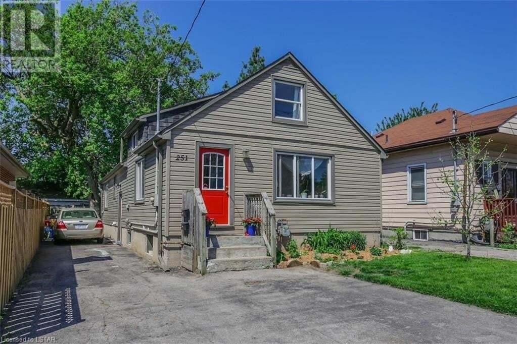 House for sale at 251 Highbury Ave N London Ontario - MLS: 262807