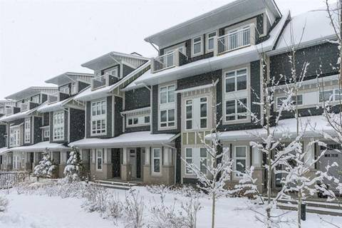 Townhouse for sale at 251 Silverado Plains Pk Southwest Calgary Alberta - MLS: C4276222