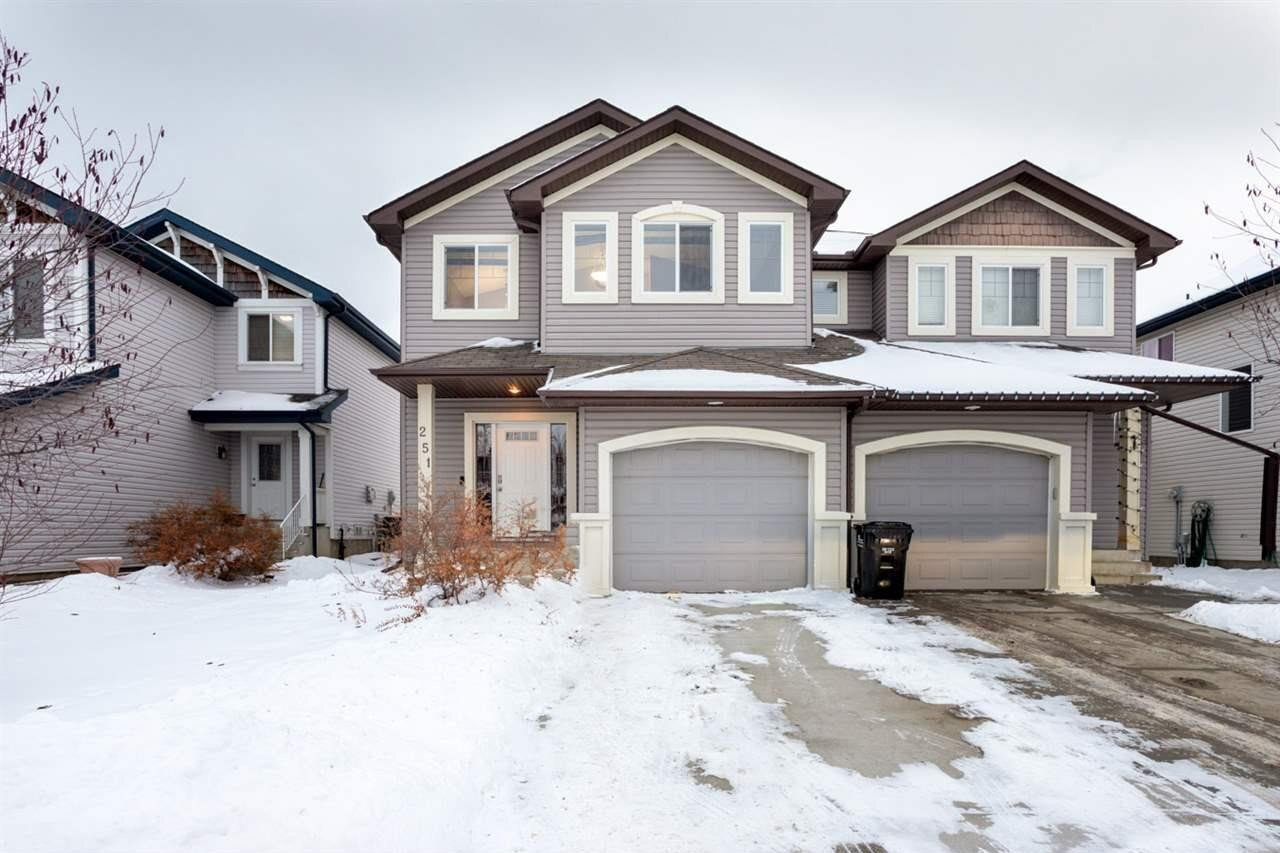 Townhouse for sale at 251 Summerton Cr Sherwood Park Alberta - MLS: E4221932