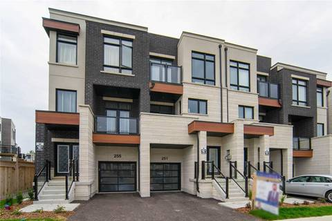 Townhouse for sale at 251 Thomas Cook Ave Vaughan Ontario - MLS: N4578882