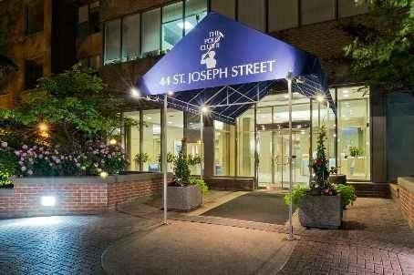 Apartment for rent at 44 St Joseph St Unit 2510 Toronto Ontario - MLS: C4453221