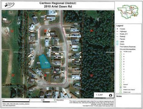 Residential property for sale at 2510 Ariel Dawn Rd Quesnel British Columbia - MLS: R2362073