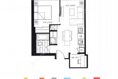 Apartment for rent at 77 Shuter St Unit 2512 Toronto Ontario - MLS: C4963167