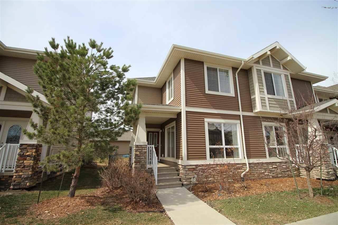Townhouse for sale at 2514 Pegasus Blvd Nw Edmonton Alberta - MLS: E4171112