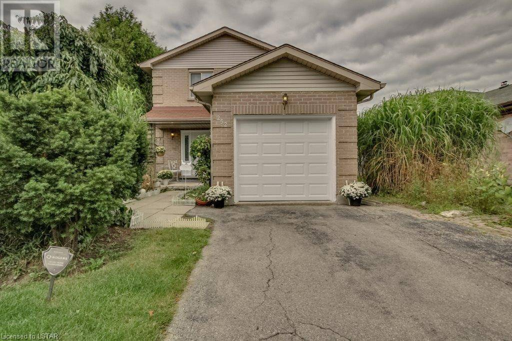 House for sale at 252 Conway Dr London Ontario - MLS: 221941