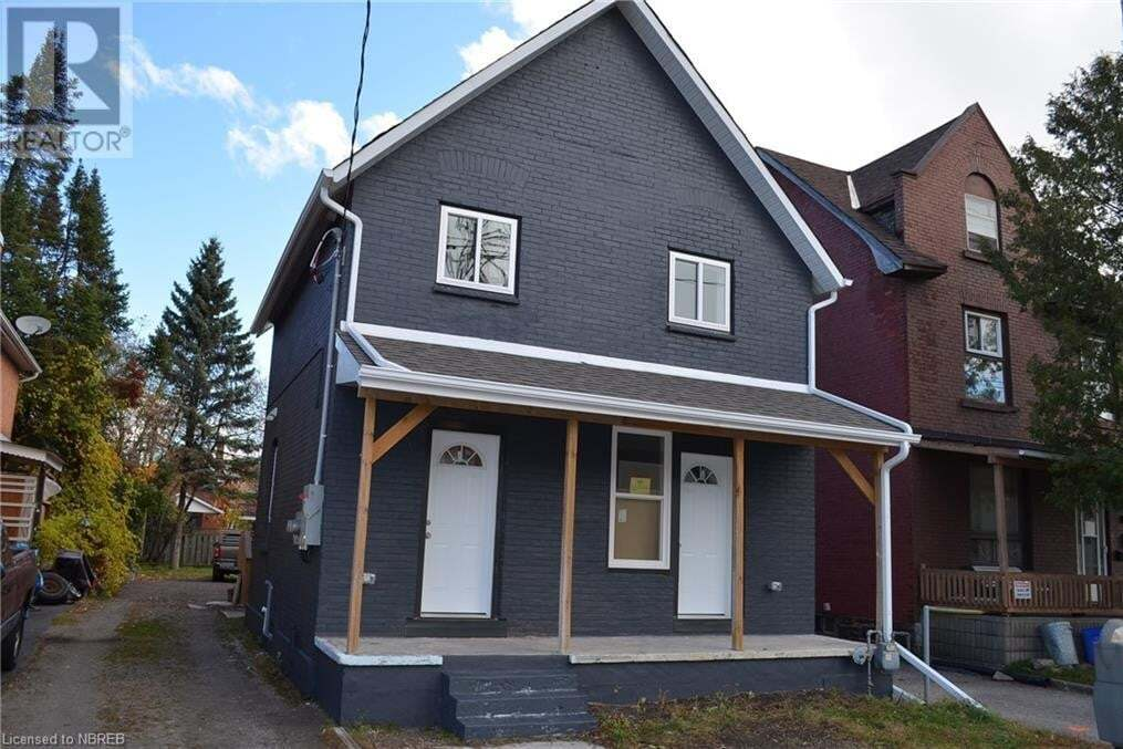 Townhouse for sale at 252 Worthington St West North Bay Ontario - MLS: 40034718