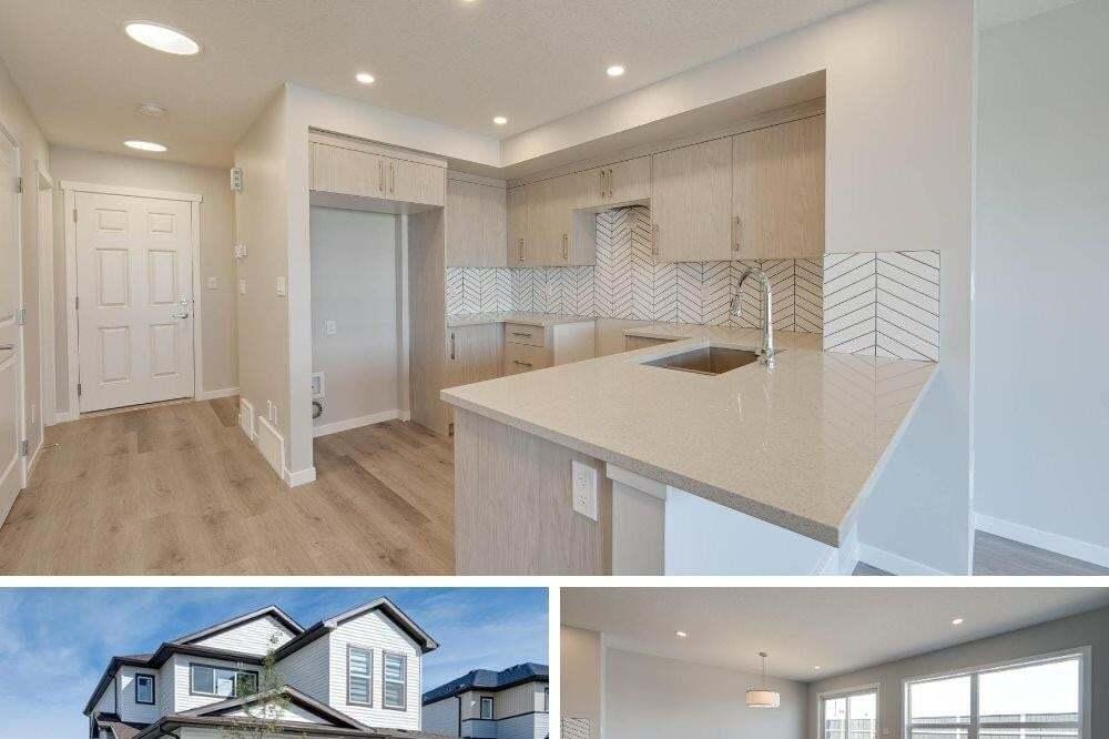 Townhouse for sale at 2526 152 Av NW Edmonton Alberta - MLS: E4208543