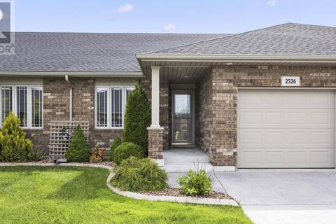 Townhouse for sale at 2526 Tivoli Ave Windsor Ontario - MLS: 19018635