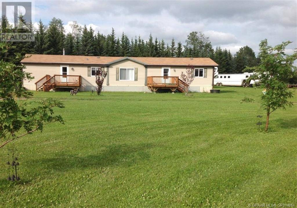 Residential property for sale at 25263 Township Road 710  Greenview, Md Alberta - MLS: GP214264