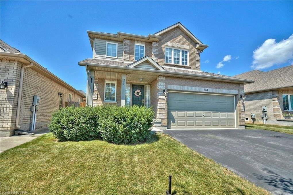 House for sale at 253 Winterberry Blvd Thorold Ontario - MLS: 40024936