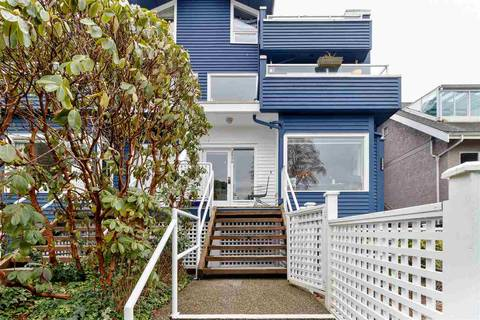 Townhouse for sale at 2530 Cornwall Ave Vancouver British Columbia - MLS: R2440158