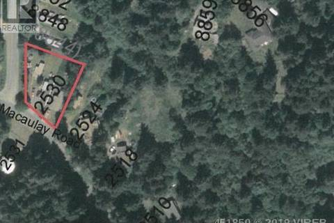 Residential property for sale at 2530 Macaulay Rd Black Creek British Columbia - MLS: 451850