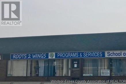 Commercial property for lease at 2535 Jefferson  Windsor Ontario - MLS: 19028127