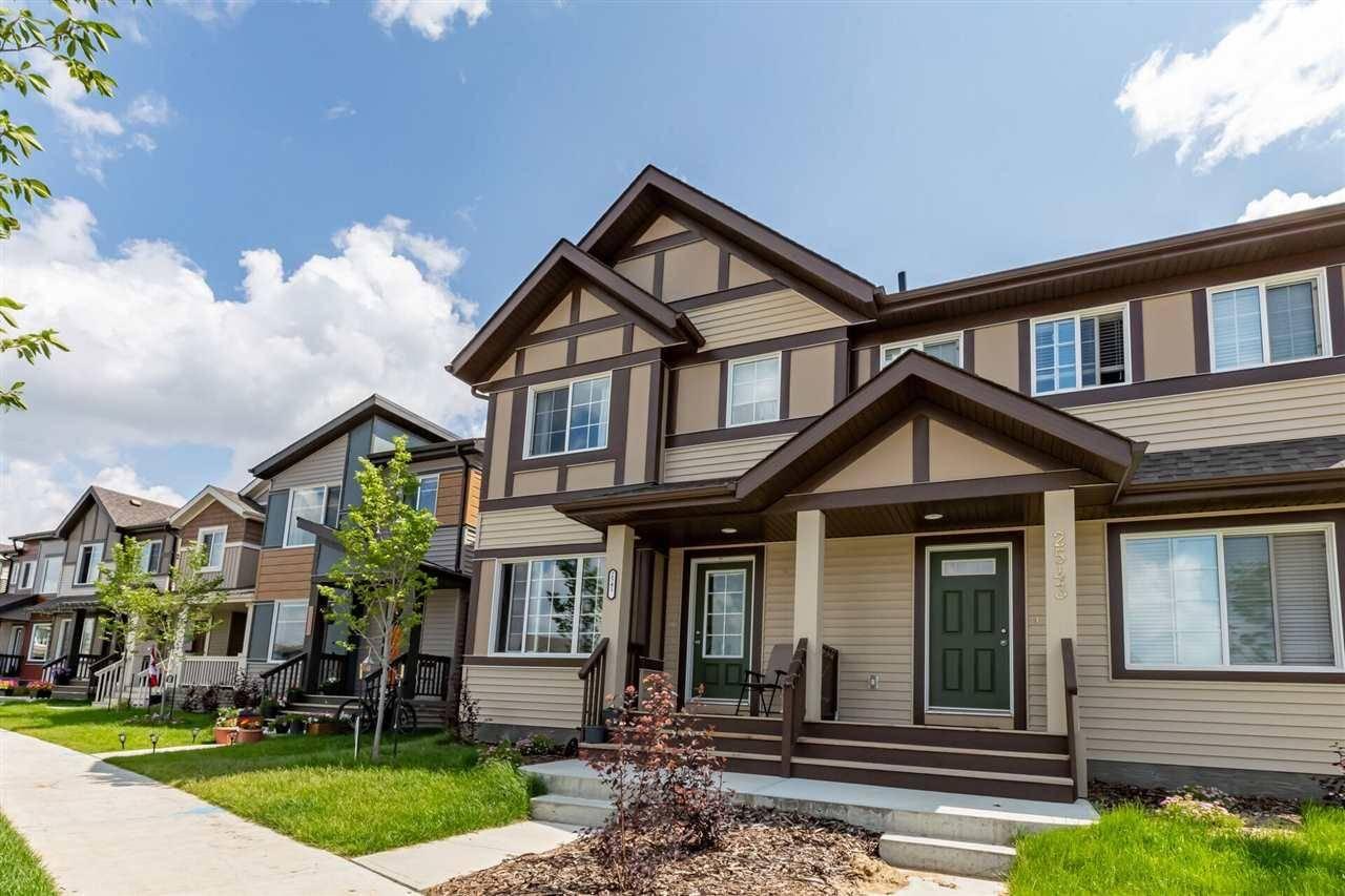 Townhouse for sale at 2541 Price Wy Sw Edmonton Alberta - MLS: E4185565
