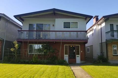 House for sale at 2545 43rd Ave E Vancouver British Columbia - MLS: R2369357