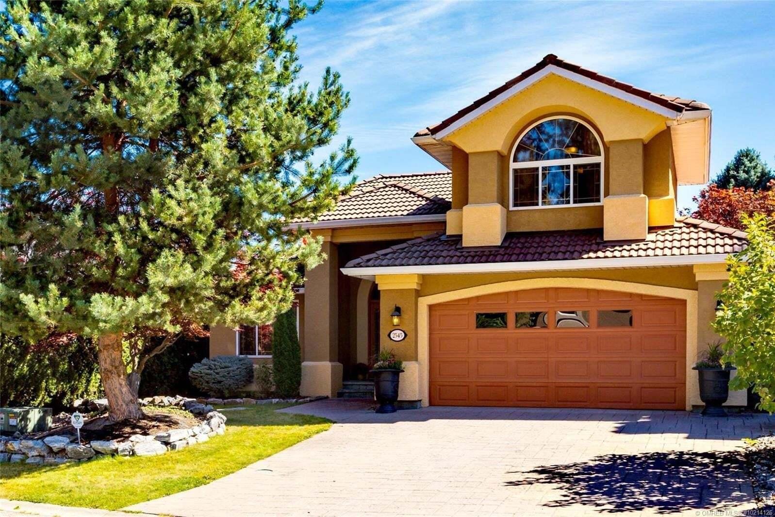 House for sale at 2545 Quail Pl Kelowna British Columbia - MLS: 10214126