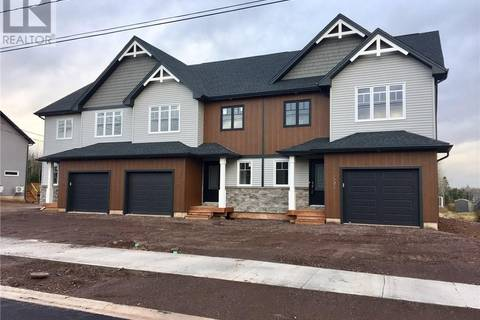 Townhouse for sale at 255 O'neill  Moncton New Brunswick - MLS: M122061