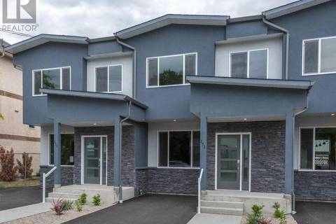 Townhouse for sale at 255 Rigsby St Penticton British Columbia - MLS: 179044