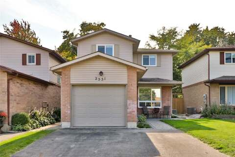 House for sale at 2551 Whittaker Dr Burlington Ontario - MLS: W4924341
