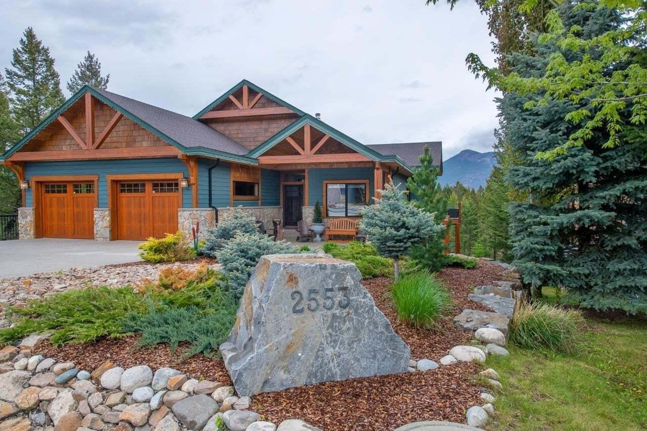House for sale at 2553 Ledgerock Ridge  Invermere British Columbia - MLS: 2452100