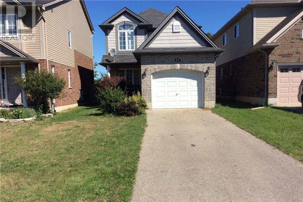 House for sale at 256 Mcmahen St London Ontario - MLS: 275161