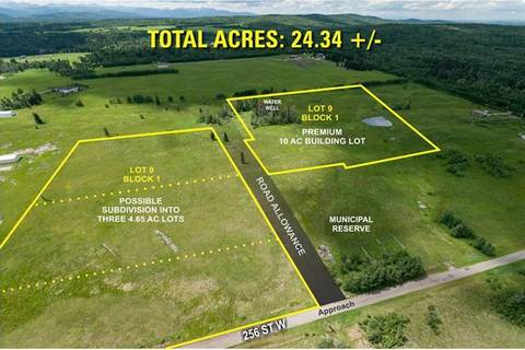 Residential property for sale at 256 Street W Near Priddis  Rural Foothills County Alberta - MLS: C4291629