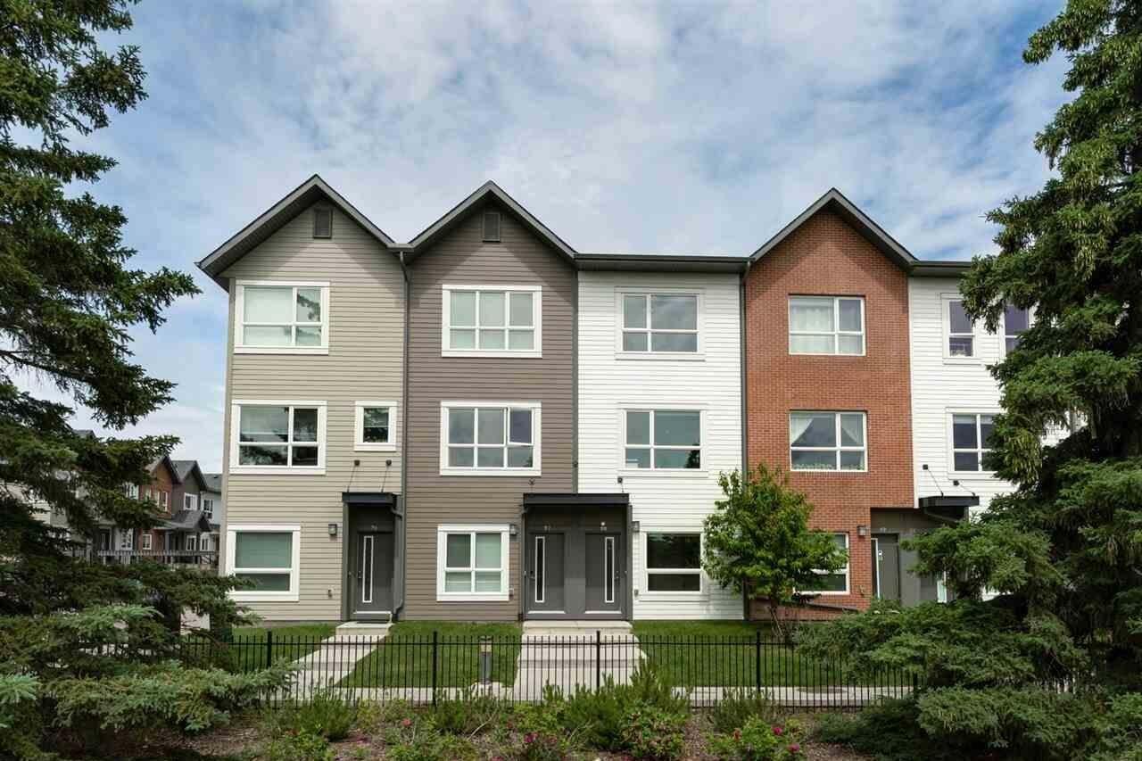Townhouse for sale at 2560 Pegasus Bv NW Edmonton Alberta - MLS: E4204693